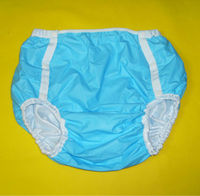 Free Shipping FuuBuu2213 Blue MAdult Diaper Incontinence Pants Diaper Changing Mat ABDL