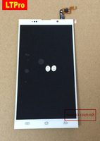 100 Orginal Guarantee Full LCD Display Touch Screen Digitizer Assembly For JIAYU G6 White Color Replacement