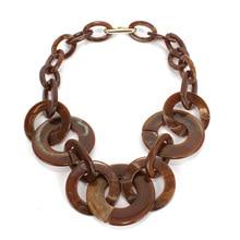 acrylic statement necklace women collar fashion jewelry geometric choker sweater necklaces pendants