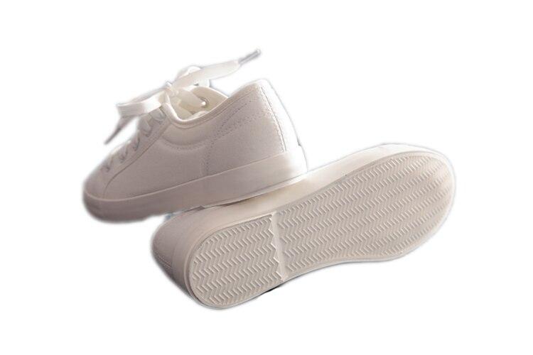Toile Chaussures Respirant Marque Été Huanqiu Qualité Nouvelle Casual St166 Printemps Mode Blanc Appartements Femmes 2017 zqYYwERn0C