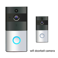 New Hot Low Power Wifi Video Doorbell Outdoor Battery Camera Night Vision Doorbell Wireless 720P HD