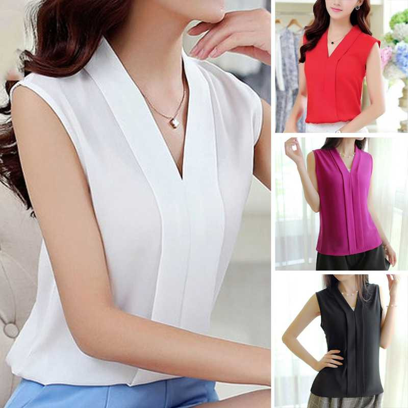 HTB1 oHrPVXXXXbcaXXXq6xXFXXXl - Woman Casual Loose Office Lady Top Female Shirt Blusas
