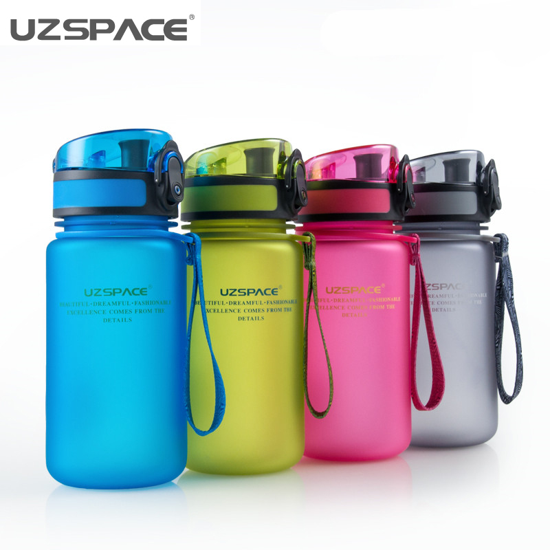 BPAfree Botellas de Agua 350 ML Matorrales Moda Portátil Té Leche Nutrición Depo