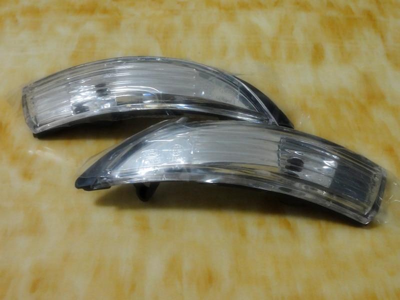 2 piezas / par Las luces indicadoras del espejo lateral derecho e - Luces del coche