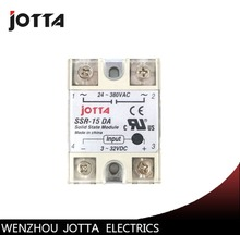 SSR -15DA  DC control AC SSR white shell Single phase Solid state relay недорго, оригинальная цена