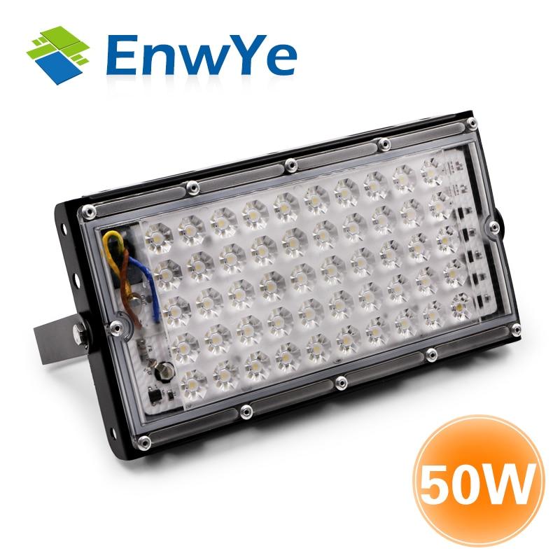 EnwYe 50 W perfekte power LED Flutlicht Flutlicht led-straßenleuchte Lampe 220 V 240 V wasserdicht Landschaft Beleuchtung IP65 led-strahler