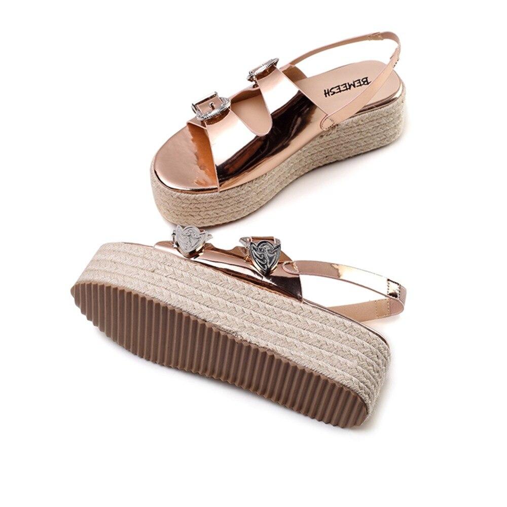 Zapatos Playa De Cuña Sandalias Tacones Altas C3l54jqra hrsQxtCBd