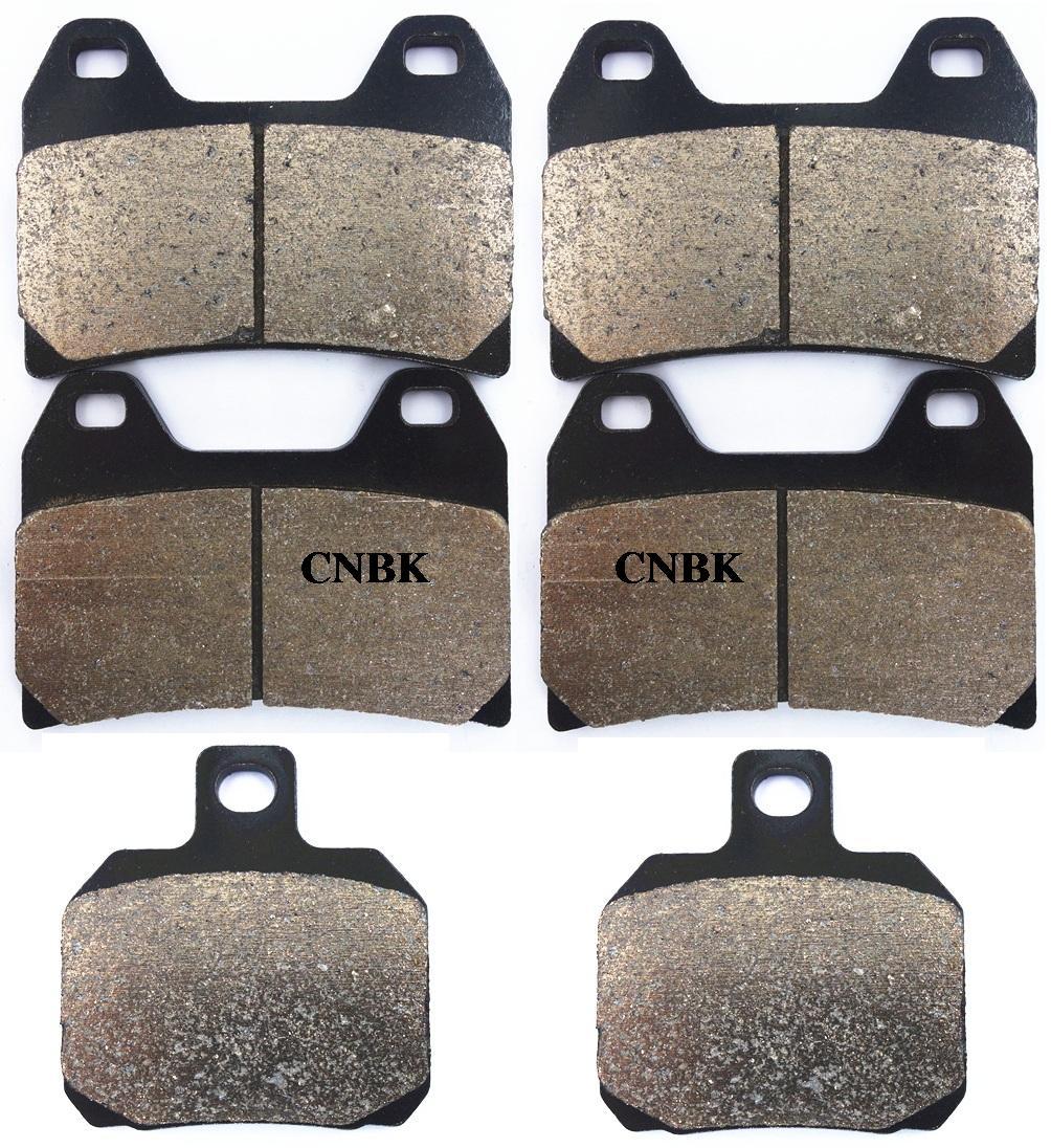 Cyleto Front Brake Pads for MOTO GUZZI 1100 V11 Sport//Scura//Naked 1999 2000