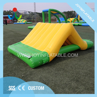 Small outdoor water slide inflatable equipment for sale