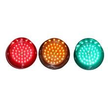 Водонепроницаемый 100 мм светодиодный указатель со стелкой модуль красный желтый зеленый 12 В светофоры