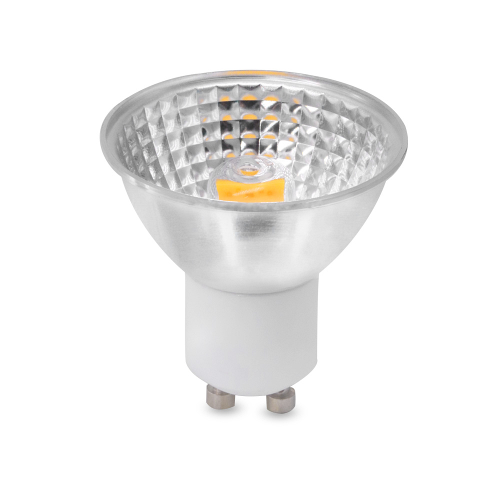 YWXLight High Power Dimmable GU10 5W Light Cup MR16 GU5.3 COB LED Light Cup LED Spotlight LED Bulb 110V 220V LED Spotlight Lamp nouveau haute puissance lampada led mr16 cob 6 w 9 w 12 w dimmable led cob spotlight chaud blanc froid mr16 12 v ampoule