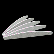 hot deal buy 4pcs/lot nail files block buffer for salon manicure uv gel polisher nail polish files 100/180 sandpaper gray boat nail art tools