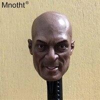 Mnotht мужской головы резьба Модель 1/6 шкала Питер Менса Глава Sculpt для 12