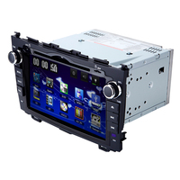 8 Inch 2 Din Car Audio HD Touch Screen Stereo DVD Player With GPS Navigation For