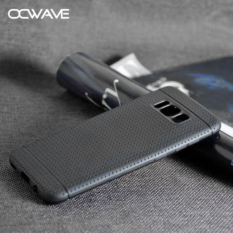 Gumové pouzdro pro Samsung Galaxy S8 Síťový design, matný - Příslušenství a náhradní díly pro mobilní telefony