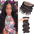 Top Ear To Ear Lace Frontal Closure With Bundles Brazilian Body Wave With Frontal Closure Human Hair With Closure Brazilian Hair