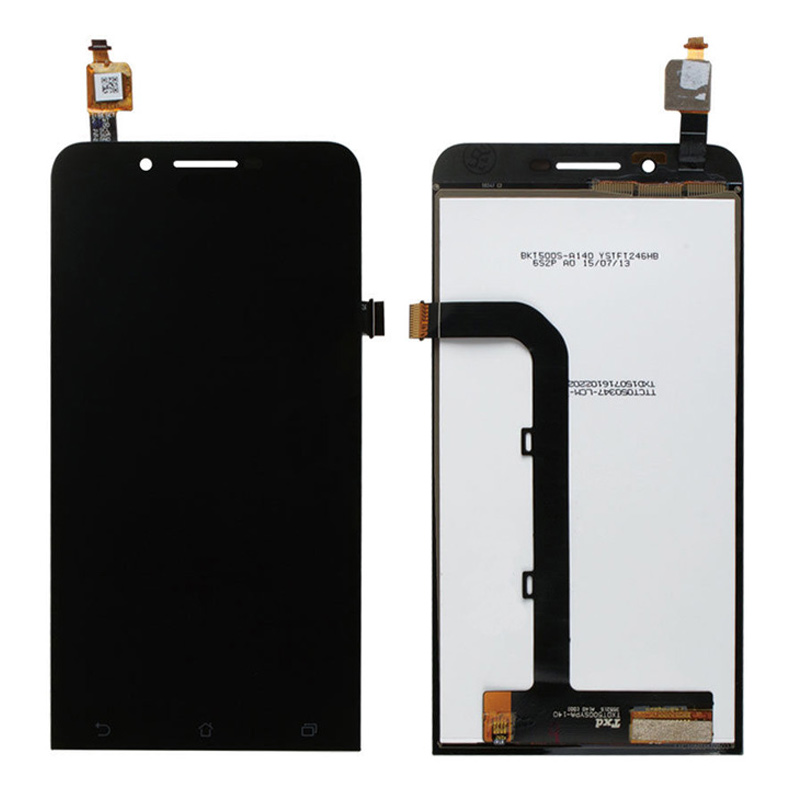 5.5 LCD Display Touch Panel Screen Digitizer Glass Assembly For Asus Zenfone GO ZB552KL Black Color Free Shipping in stock black zenfone 6 lcd display and touch screen assembly with frame for asus zenfone 6 free shipping