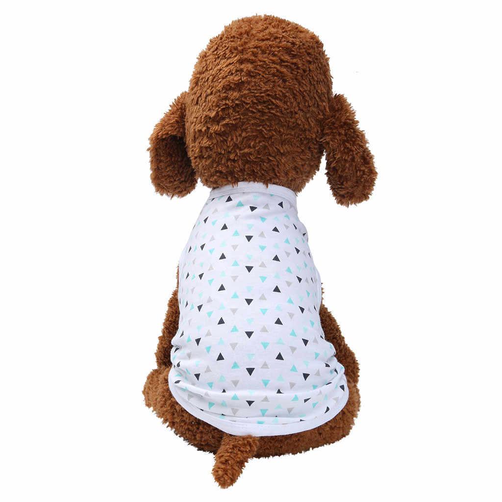 2019 夏のビーチのシャツペットのベスト通気性、快適カジュアル旅行シャツ小型犬猫ブラウス服 roupa パラ cachorro