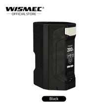 Oryginalny Wismec Luxotic DF BOX Mod z 7ml pojemność butelka do squonu 200W maksymalna moc wyjściowa Luxotic box mod elektroniczne papierosy pudełko tanie tanio Elektryczne Mod Metal 18650 Brak