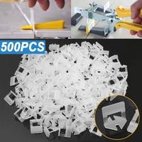 500pcs Plastic Ceramic Tile Leveling System Clips Plier Tiling Tile Leveler Spacers Tool Kit Wall Floor For Tiling Tools