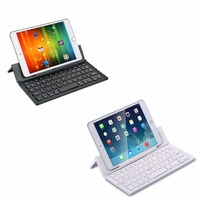 Portable Mini Wireless Foldable Bluetooth Keyboard Collapsible Keypad Phone Holder for For Windows Android iPhone iPad IOS PC