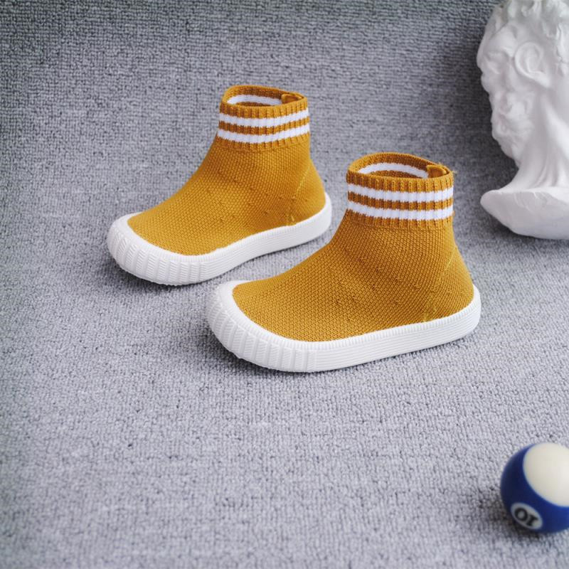 Childrens Knitted Casual Shoes 2019Autumn New Sets Shorts Single Boots Comfortable Socks Shoes Flying Woven Childrens BootsChildrens Knitted Casual Shoes 2019Autumn New Sets Shorts Single Boots Comfortable Socks Shoes Flying Woven Childrens Boots
