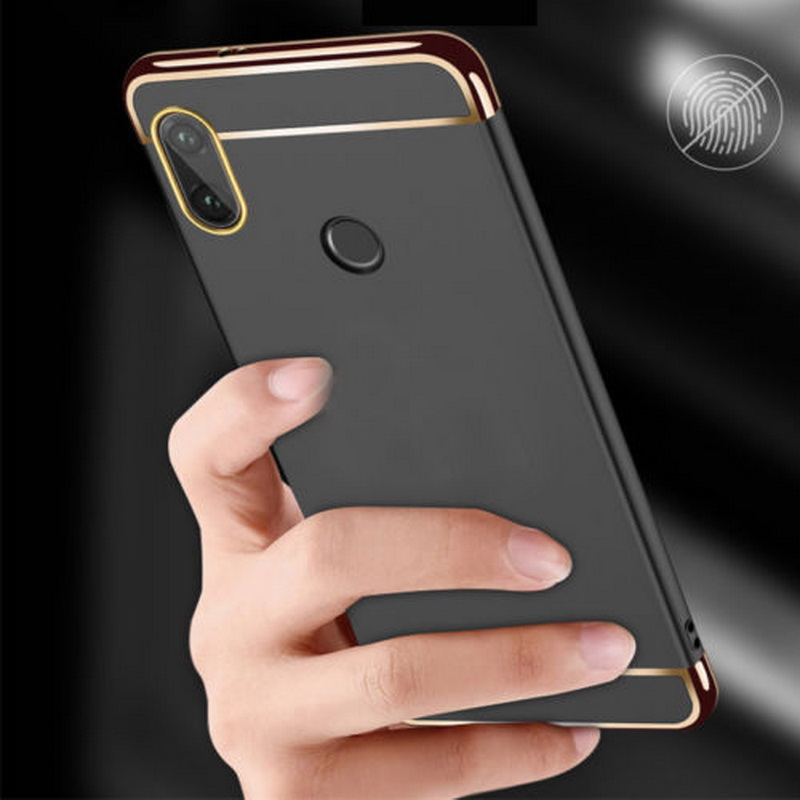 Hybrid Armor Shockproof Case For Xiaomi Redmi Note5A Prime Note5 Pro Slim Electroplate PC Hard Back For Redmi Note 5 5A Pro Case