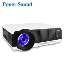 Poner Saund LED 86W Proyector for Business Optional Android Version Bluetooth WIFI 3D Home Theater HDMI 1080P USB LED Projector