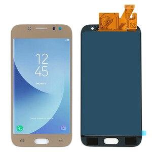 Image 4 - Samsung Galaxy için LCD J5 2017 J530 SM J530F J530M LCD ekran dokunmatik ekranlı sayısallaştırıcı grup Parlaklık Ayarı + Yapıştırıcı