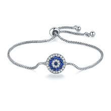 LISM Hot Sale Fashion Good Quality Adjustable Bracelet Cubic Zirconia Crystal  Inlay Charm Bangle Colors For Girls Gift Jewelry