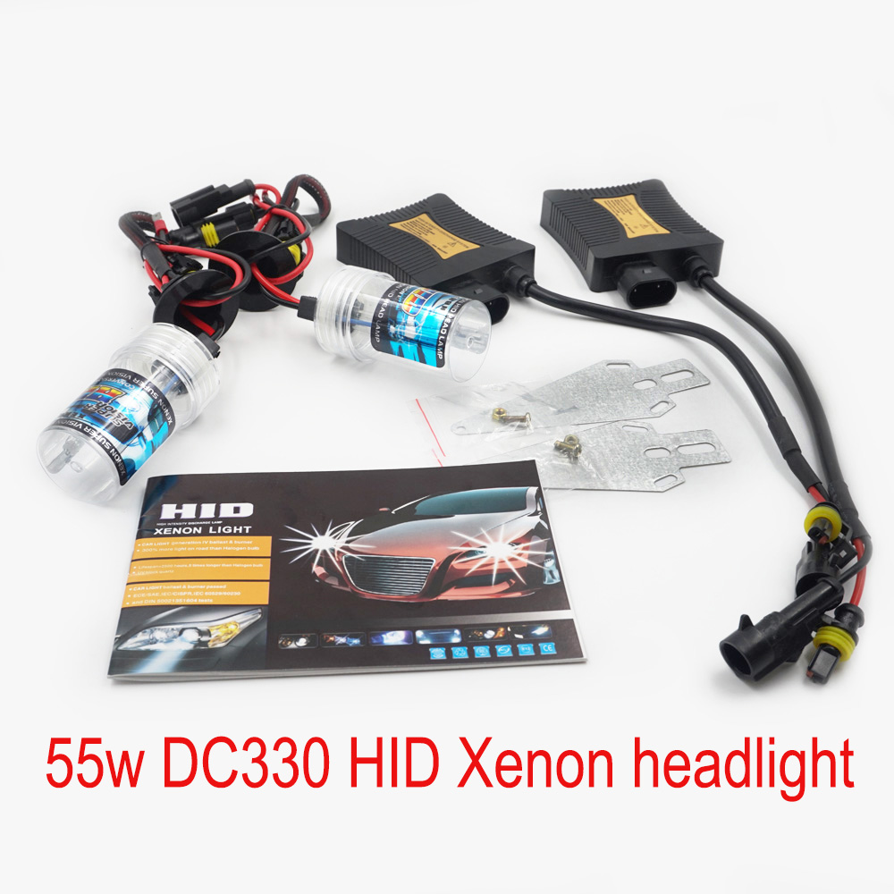 SLIM BALLAST Bulbs Fog Front light source Car HID Xenon 55w DC330 Auto parts 880 9005 9006 H1 H3 H7 H11 9004 H4 H13