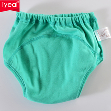 IYEAL High Quality Baby Diapers /Nappies Cloth Diaper/Nappy Toddler Girls Boys Waterproof Cotton Potty training pants 8PCS/Lot