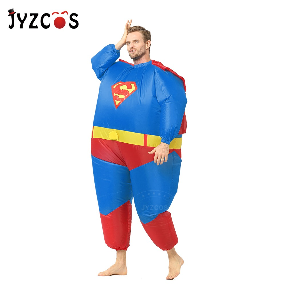 Adult Inflatable Superman Costume-3