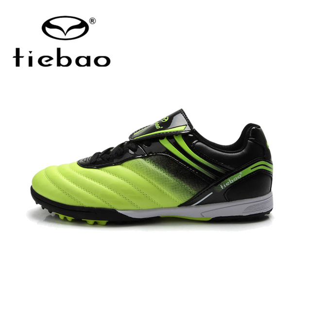 TIEBAO Professional Outdoor Kids' Sneakers Trainers Outdoor Grass Soccer Shoes Cleats For Children Sports Football Shoes