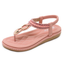 2019 Women Sandals Plus Size 3542 Summer Style High Quality Leather Sandals Fashion Peep Toe Jelly Shoes Sandal Flat Shoes Woman цена 2017