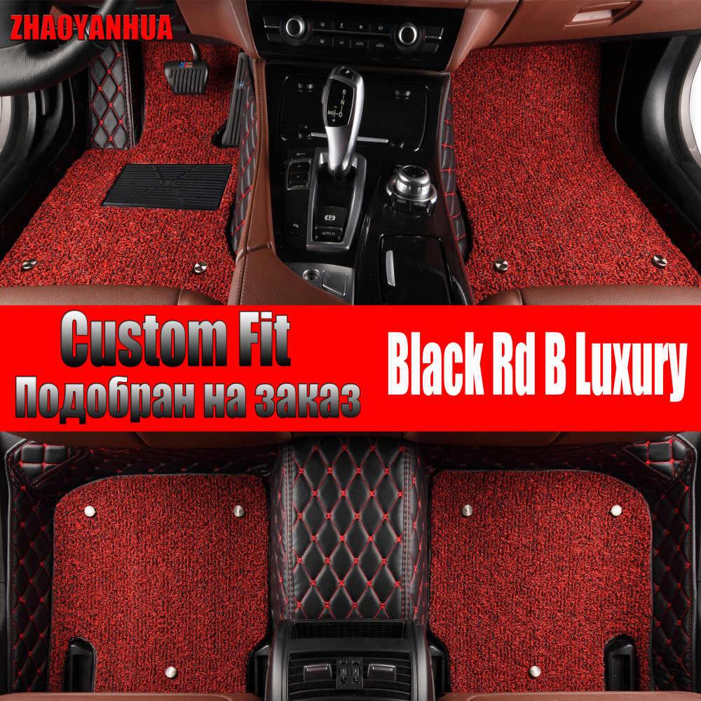 Zhaoyanhua Lantai Mobil Tikar untuk Lexus J100 LX470 LX 470 J200 LX570 RX200T RX270 RX350 NX200 GS250 Mobil Styling karpet