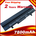 Black 9 cells 7800mAh Battery for Asus Eee PC 1001PX 1001HA 1005P 1001PQ 1005 1005HA AL31-1005 AL32-1005 ML32-1005 PL32-1005