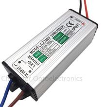 цена на 2pcs LED Driver 600mA 20W AC85V-265V to DC 30-36V Switch Adapter Transformer Power Supply IP67 For LED Floodlight spotlight lamp