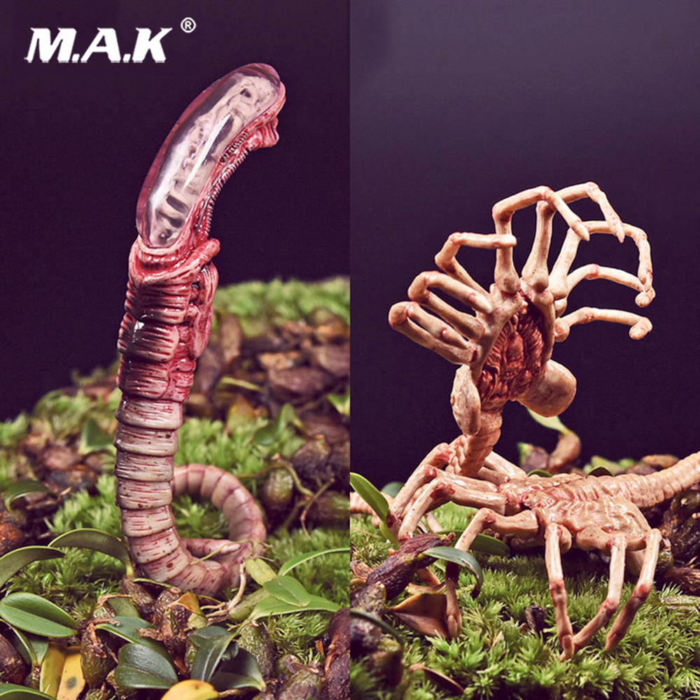1/6 Schaal Alien Predator Chestburster Facehugger Model alien xenomorph alien figuur Voor 12 inches action figure roofdier Alien