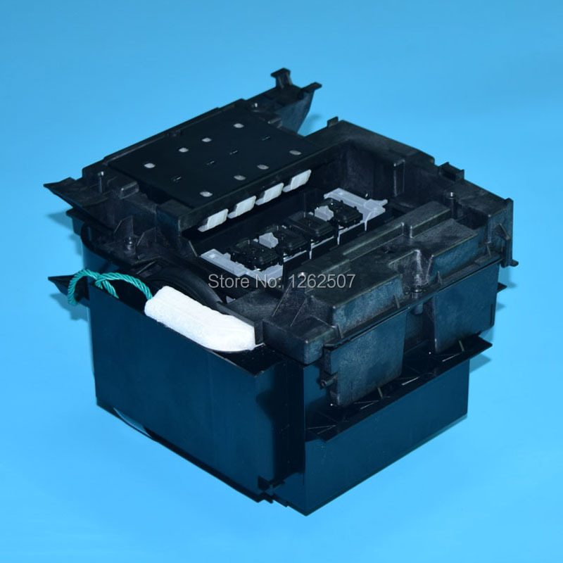 Cleaning station for hp 500 800 510 500ps 800ps printer cleaning unit for hp plotter spare parts  plastic 3 way valves system cleaning device cleaning valves 12bit printer spare parts