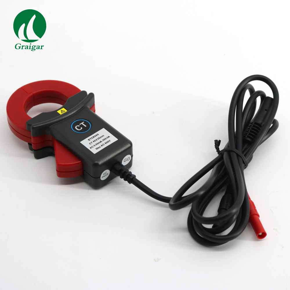 ETCR040 AC Leakage and Current Detection Clamp Meter  Range 0.00mA-600A  Resolution 0.01mAETCR040 AC Leakage and Current Detection Clamp Meter  Range 0.00mA-600A  Resolution 0.01mA