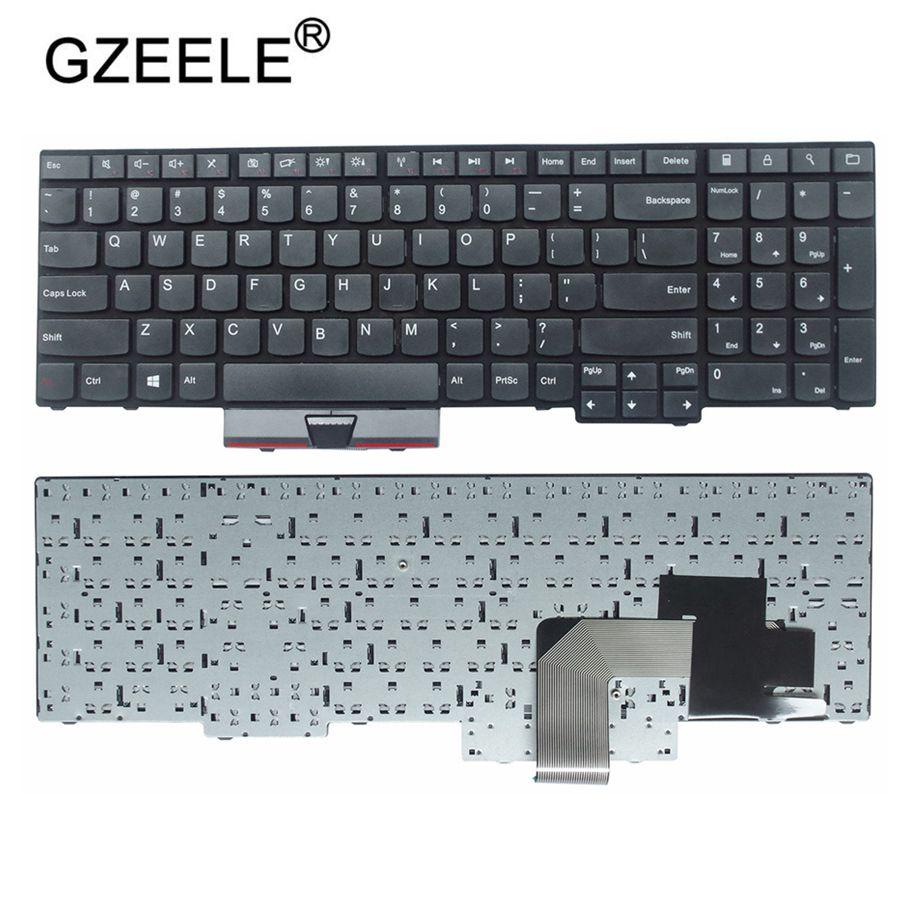 GZEELE New Keyboard For Lenovo For IBM For ThinkPad E530C E530 E545 E535 E530 US English Layout
