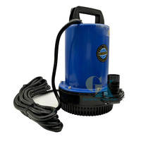 DC 48V Farm & Ranch Solar Powered Deep Well Submersible Water Pump 49.2FT Max Lift(Blue)