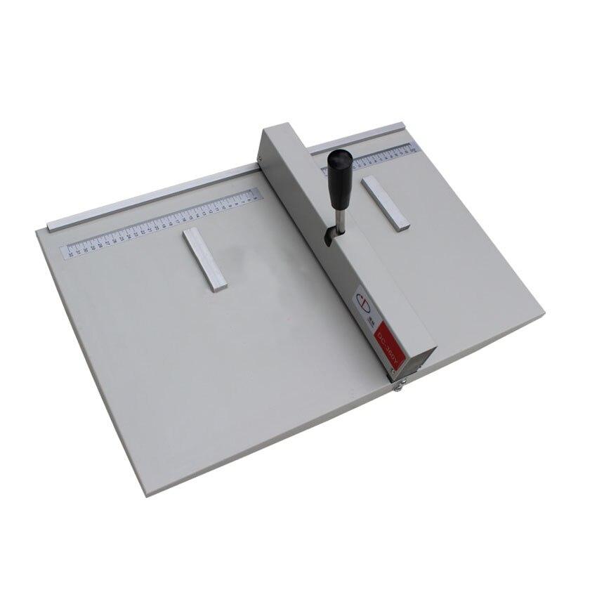 1PC paper Creasing machine , manual creasing machine paper creaser DC-360Y for Creasing Length 360mm/14inch office paper creaser creasing machine for paper photo card 460mm manual scoring machine 18