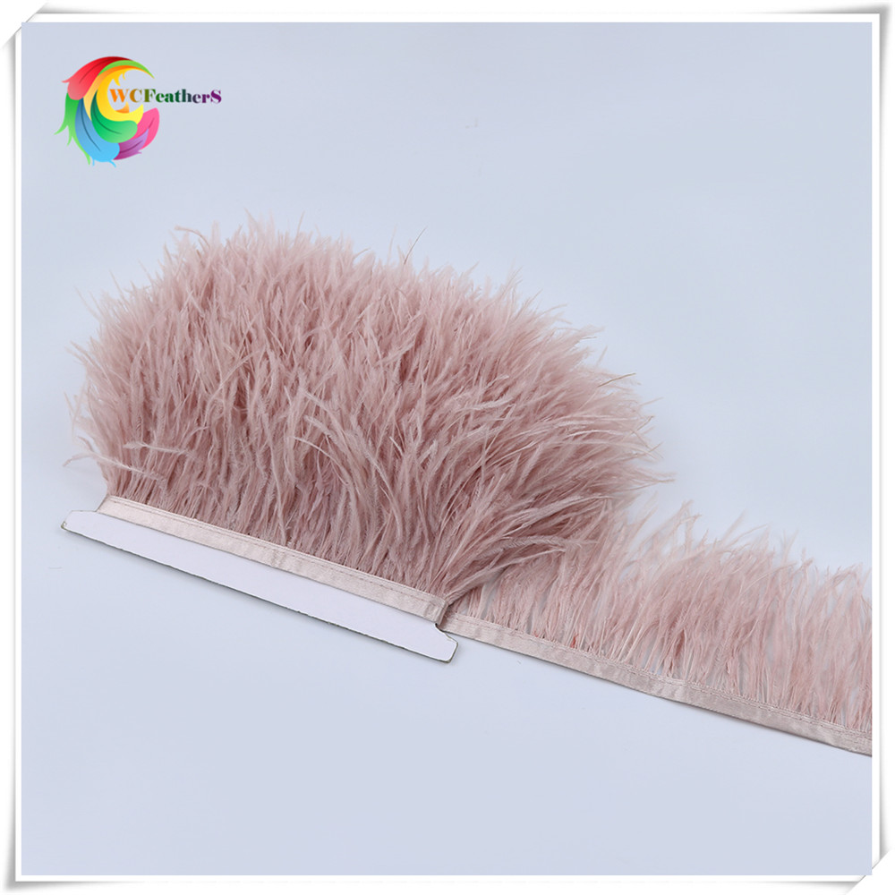 O25 8-10cm ostrich feather trims 4