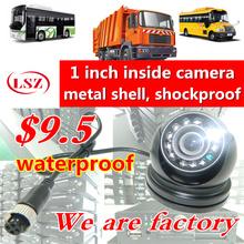 Factory Truck BUS Camera AHD CCD rear view camera 24V Truck Camera IVECO ISUZU Truck Van Trailer Buses Waterproof Camera