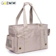 Breathable Dog Carrier Bags For Small Dogs Portable Cats Handbag Foldable All Season Use Pet Sling Bag