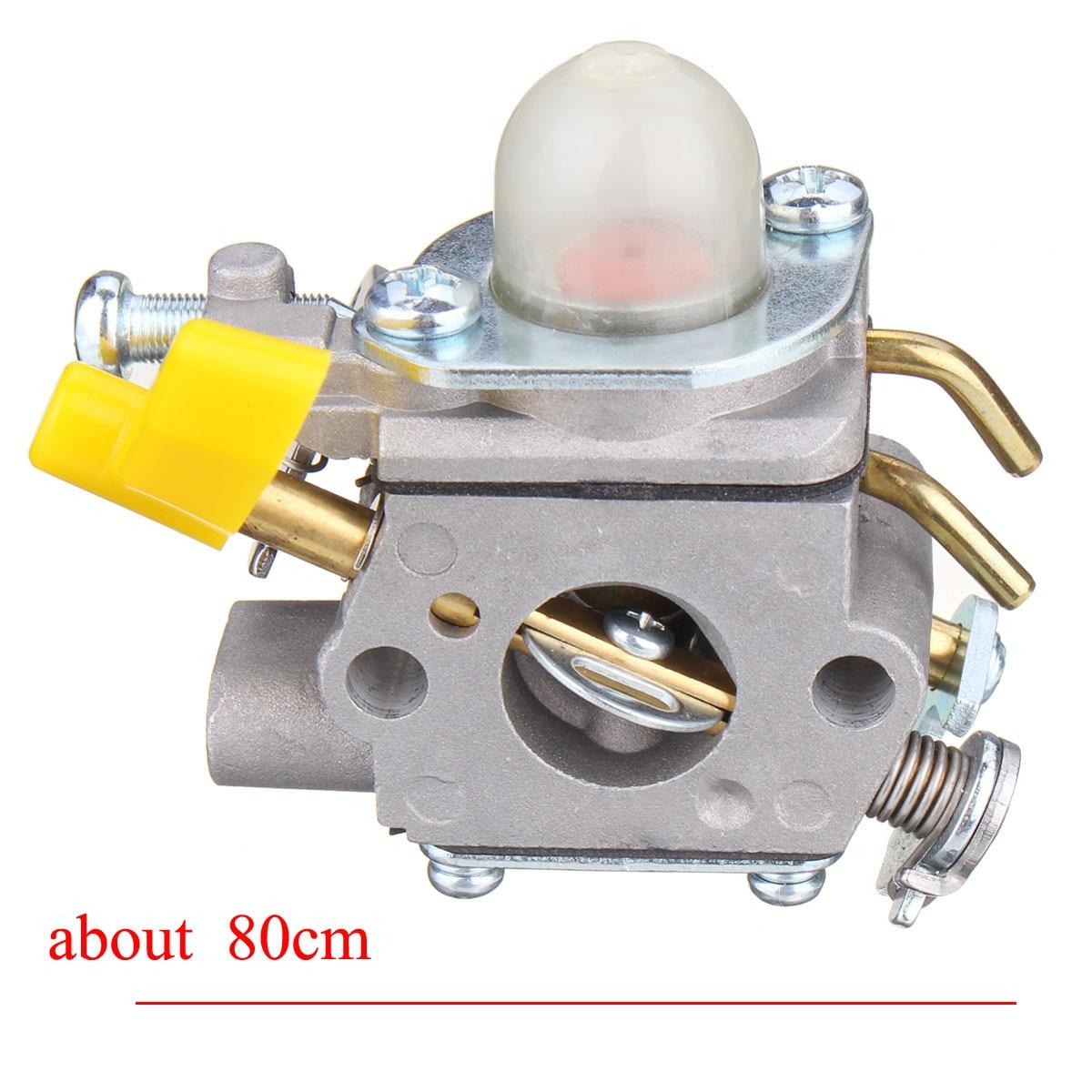 Carburetor Replacement Kit With Fuel Filter Oil Tube Primer Bulb for Ryobi  for Homelite UT 60526 Gas Tiller/Cultivator-in Carburetors from Automobiles  ...