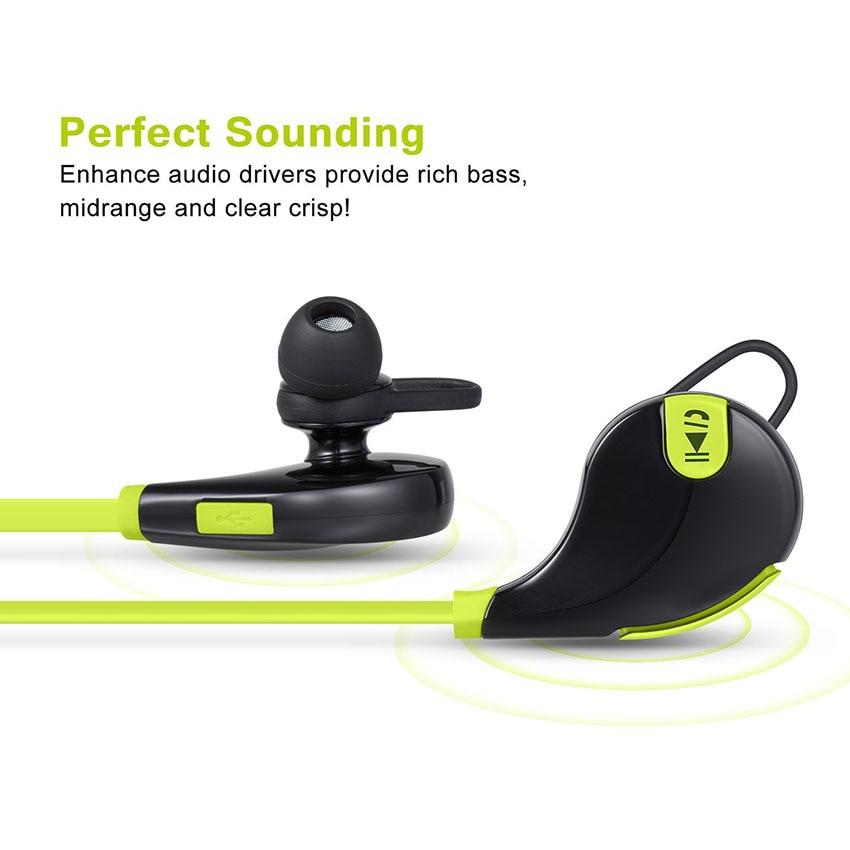 Aimitek Bluetooth Earbuds Sports Headsets CSR Wireless Headphones Stereo Handsfree Earphones with MIC for iPhone Smartphones 3