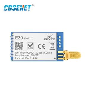 Image 2 - SI4463 اللاسلكية rf وحدة 170MHz vhf الإرسال والاستقبال CDSENET E30 170T27D UART 500mw SMA موصل قام المحفل TCXO rf جهاز ريسيفر استقبال وإرسال